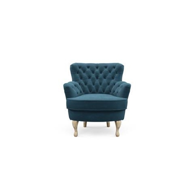 Alessia Accent Chair Peacock Teal
