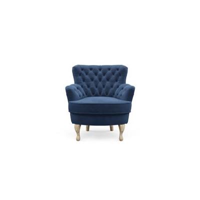 Alessia Accent Chair Ocean Blue