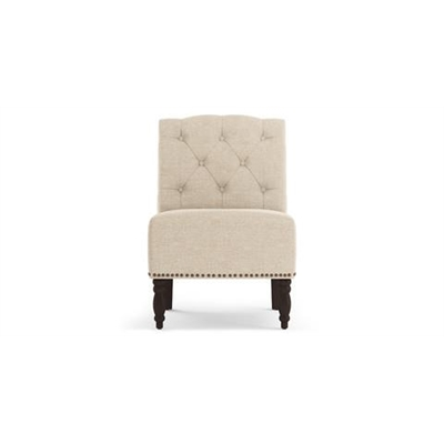 Aria Accent Chair French Beige