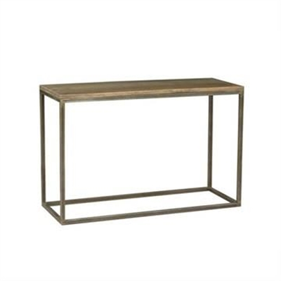 Byrne Mango Wood & Metal Console Table