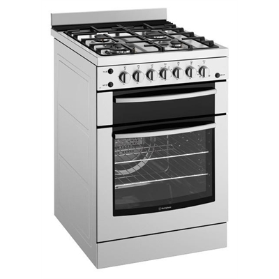 Westinghouse 60cm Freestanding Gas Cooker - WFG617SANG
