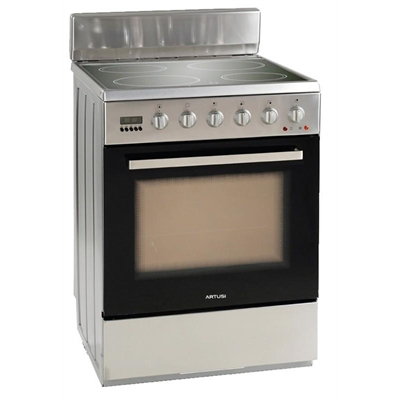 Artusi 60cm Electric Freestanding Cooker - AFC607X