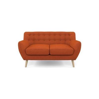 Shelly 2 Seater Sofa Burnt Orange