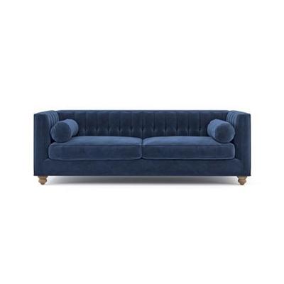 Camilla 3 Seater Sofa Ocean Blue