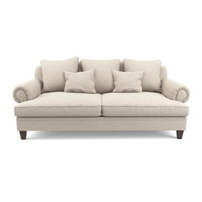 Mila 3 Seater Sofa Classic Cream