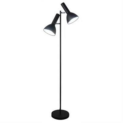 Vespa Metal Twin Floor Lamp, Black