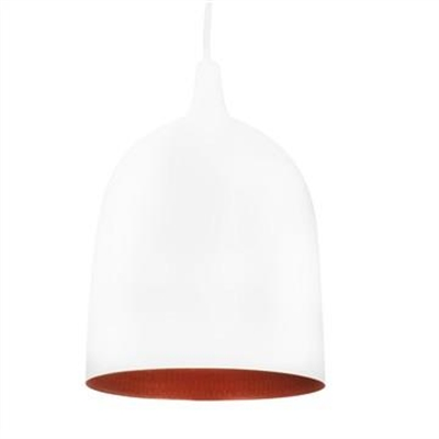 Lumi-R Metal Pendant Light - White/Copper