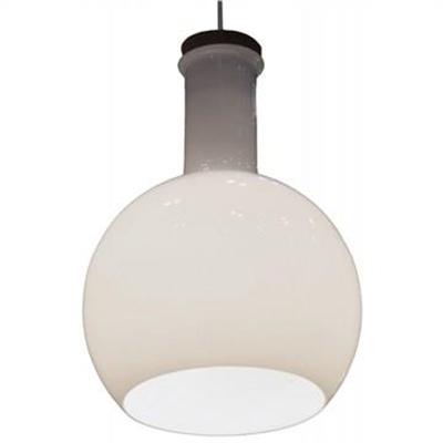 Magnesia Dome Shade Glass Pendant Light