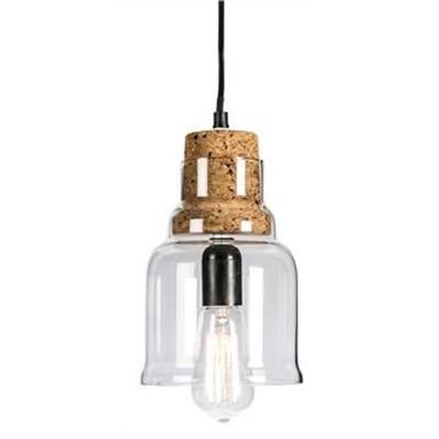 Anaya Bell Glass Pendant Light
