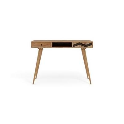 Potter Desk Natural Solid Mango Wood