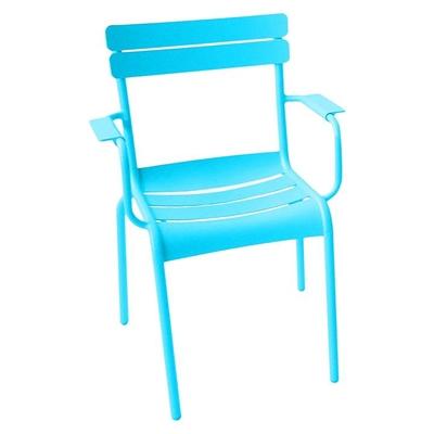 Coda Outdoor Chair Aluminium Blue Living by Design