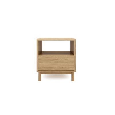 Cato Bedside Table One Drawer California Oak Wood California Oak Wood