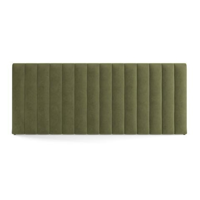 Megan Wide Queen Size Bed Head Olive Green by Brosa, a Bed Heads for sale on Style Sourcebook