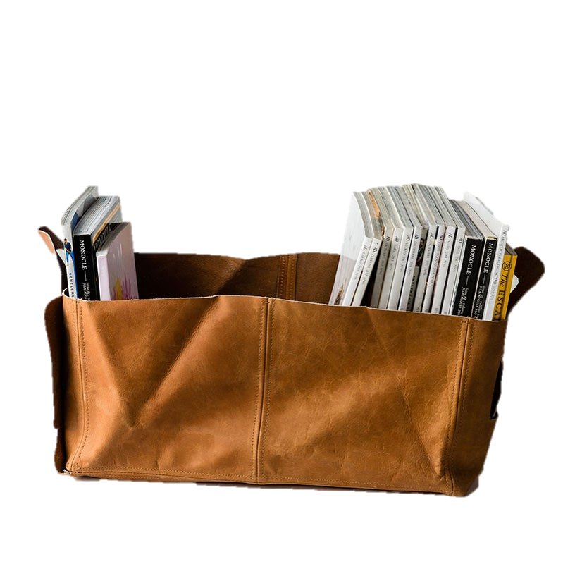 Leather Holdall Storage