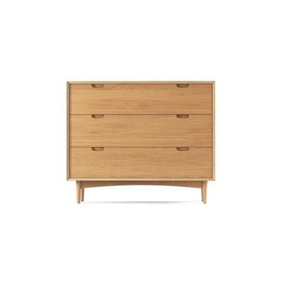 Ethan Wide Chest of Drawers Scandi Oak Wood