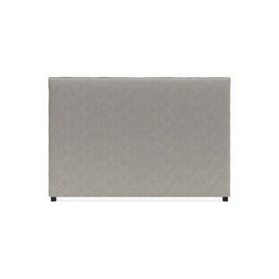 Sara King Size Bed Head Stone Grey