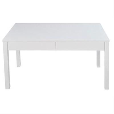 Faith 2 Drawer 120cm Desk - White