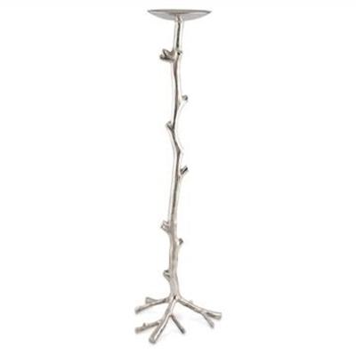 Biviano Large Aluminium Twig Candle Holder