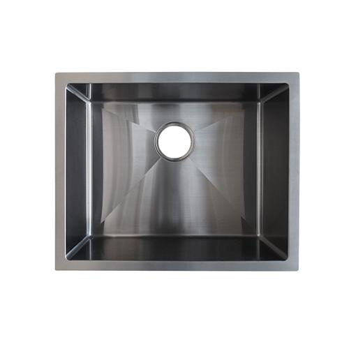 Seba Single Kitchen Sink 550mm Gunmetal