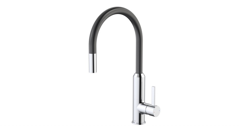 VIXEN BLACK PULL DOWN SINK MIXER by Harvey Norman, a Kitchen Taps & Mixers for sale on Style Sourcebook