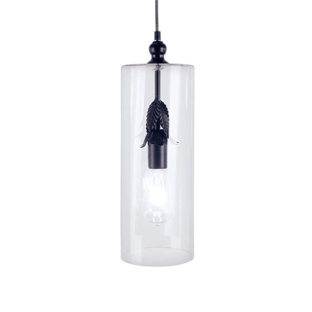 Elche Cylinder Glass Flower Pendant by Early Settler, a Pendant Lighting for sale on Style Sourcebook
