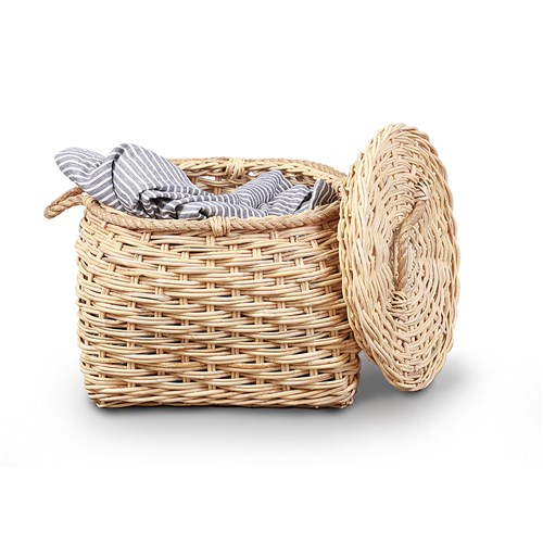 Dewi Natural Belly Basket by James Lane, a Baskets & Boxes for sale on Style Sourcebook