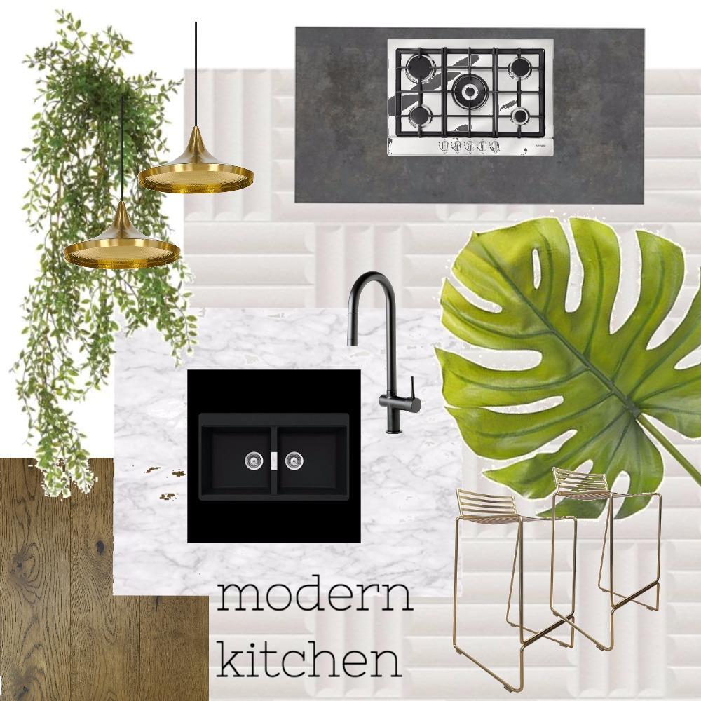 Modern Kitchen Interior Design Mood Board by k_b on Style Sourcebook
