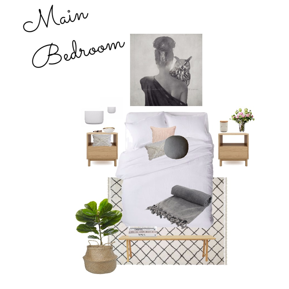 Main Bedroom Interior Design Mood Board by Gotstyle on Style Sourcebook