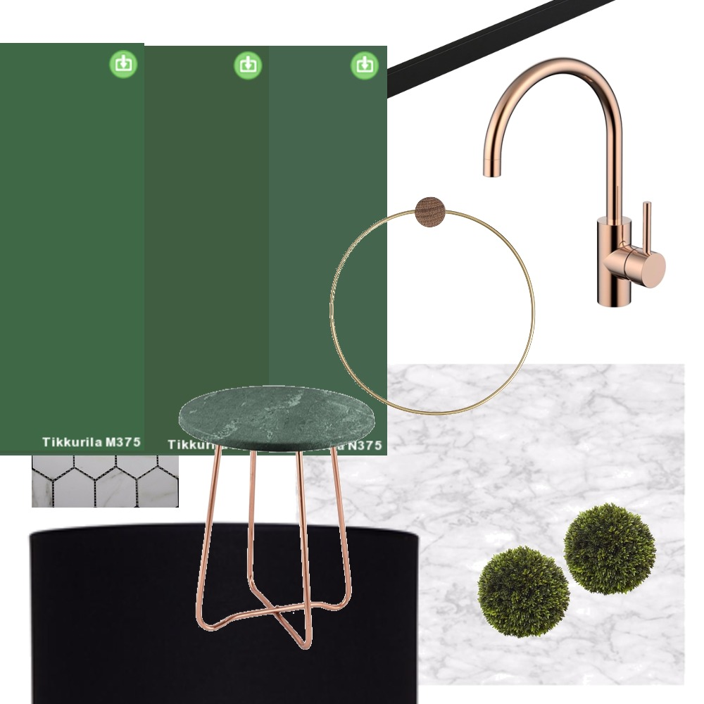 white bathroom with color samples Interior Design Mood Board by afterworkdiy on Style Sourcebook