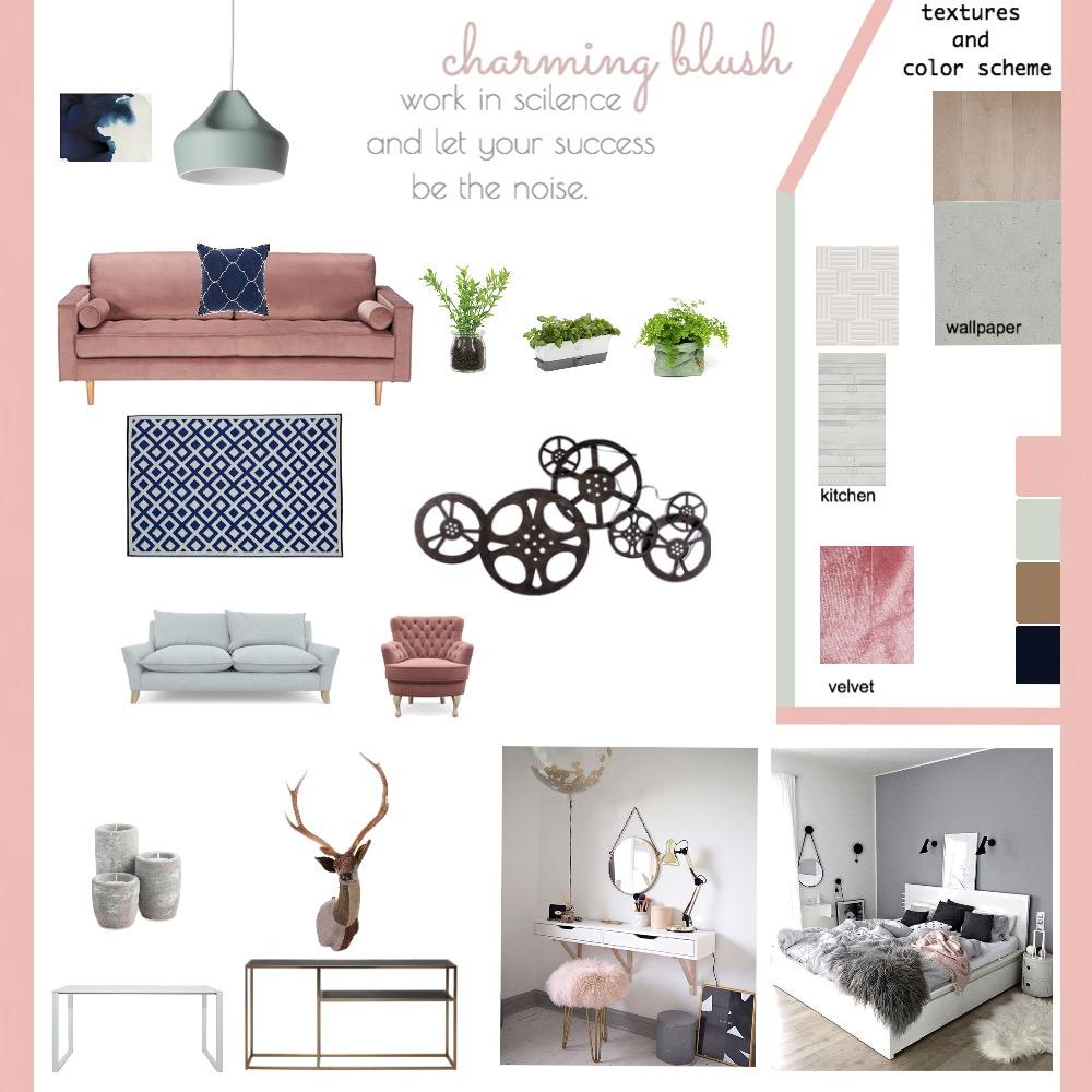 studio apartment Interior Design Mood Board by zahraebh on Style Sourcebook