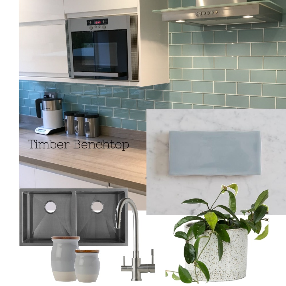 Lynne and Cam's kitchen - Timber benchtop Interior Design Mood Board by Nook on Style Sourcebook