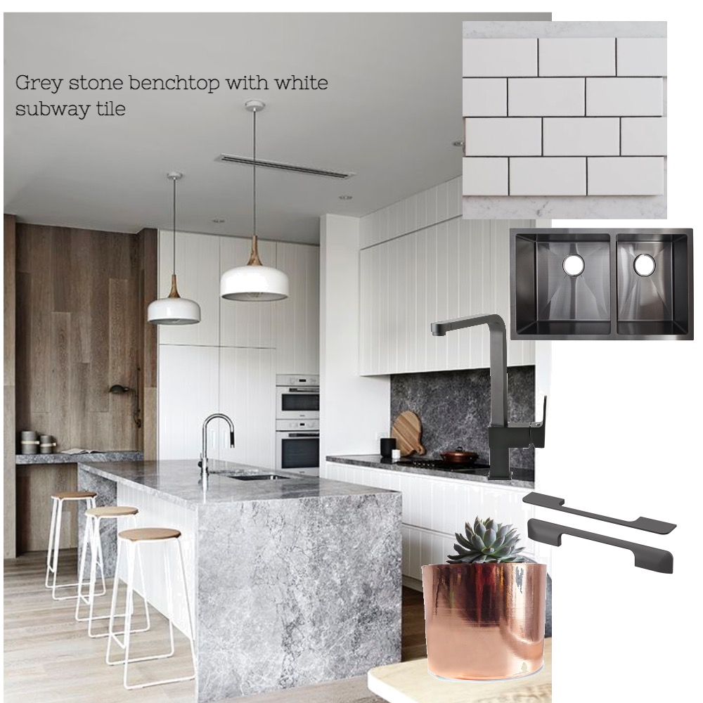 Murray - Grey stone benchtop Interior Design Mood Board by Nook on Style Sourcebook