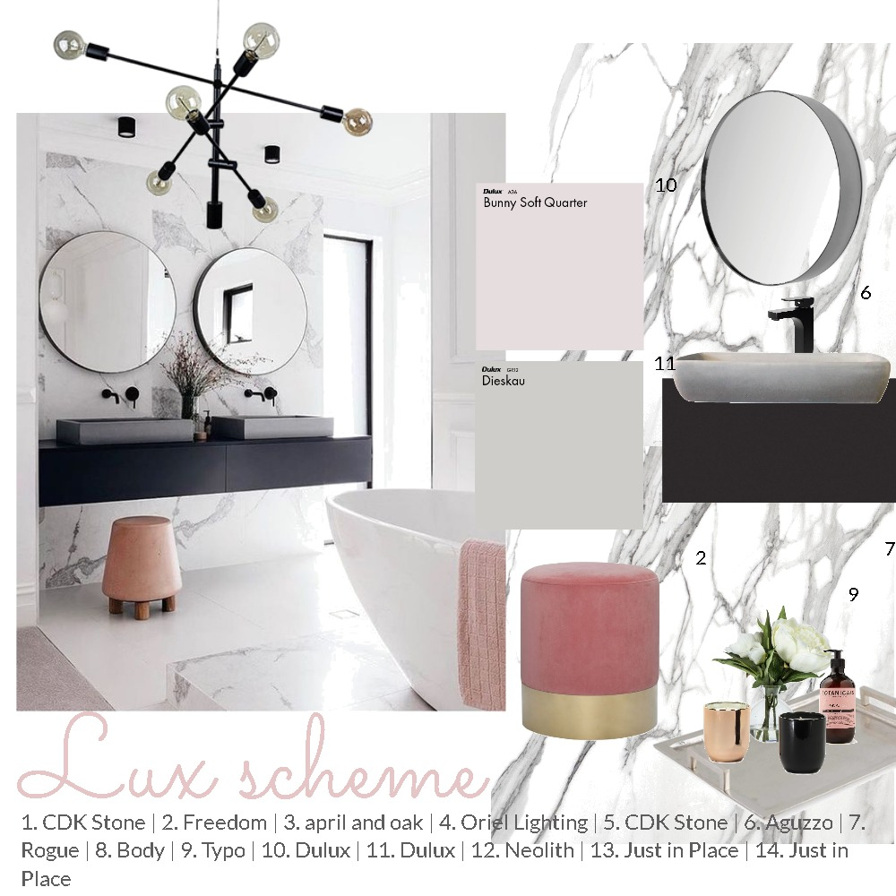 Luxe Interior Design Mood Board by thebohemianstylist on Style Sourcebook