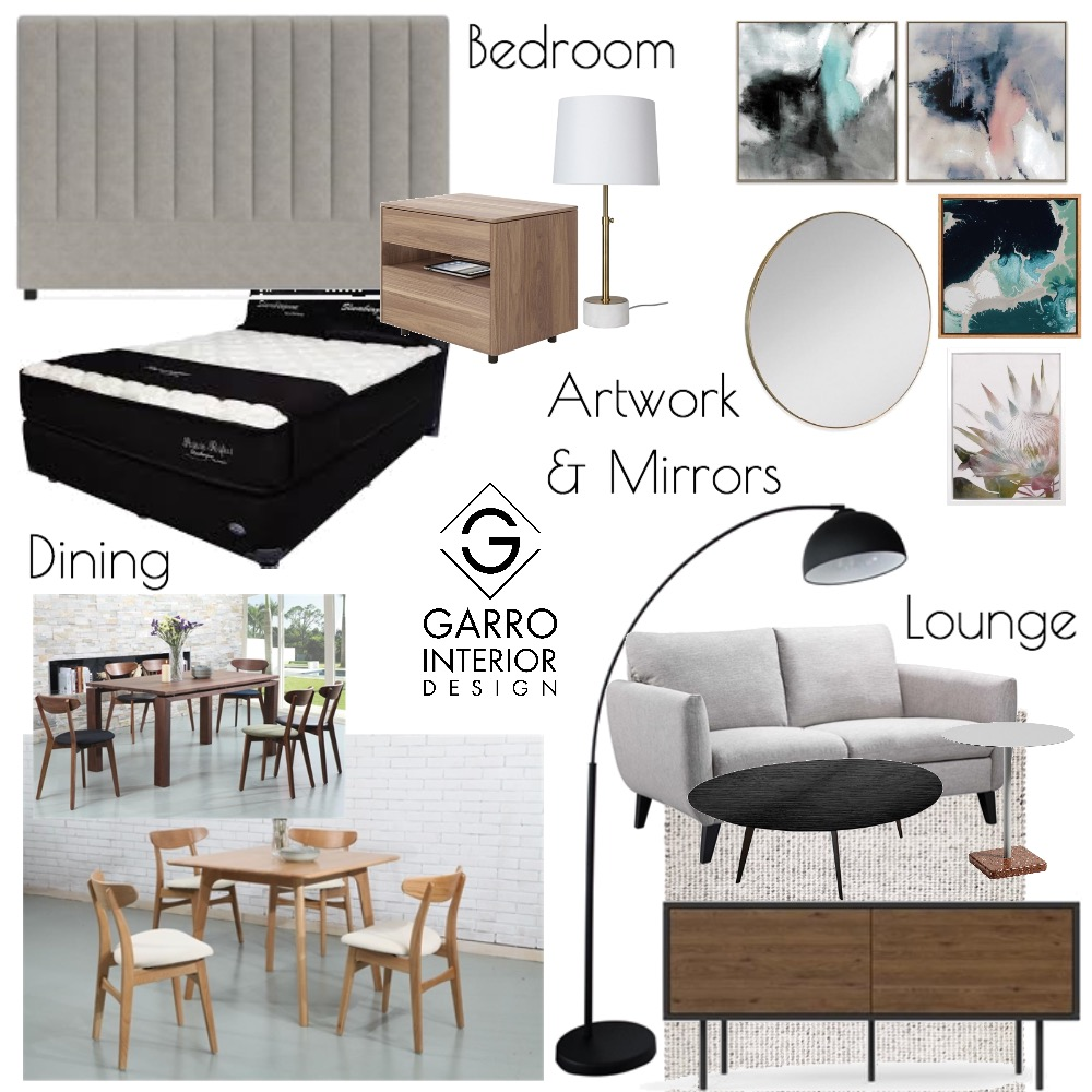 Apartment Mood Board Interior Design Mood Board by Garro Interior Design on Style Sourcebook