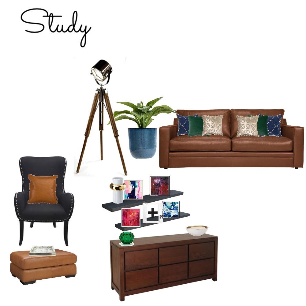 Study Interior Design Mood Board by GeorginaRahi on Style Sourcebook