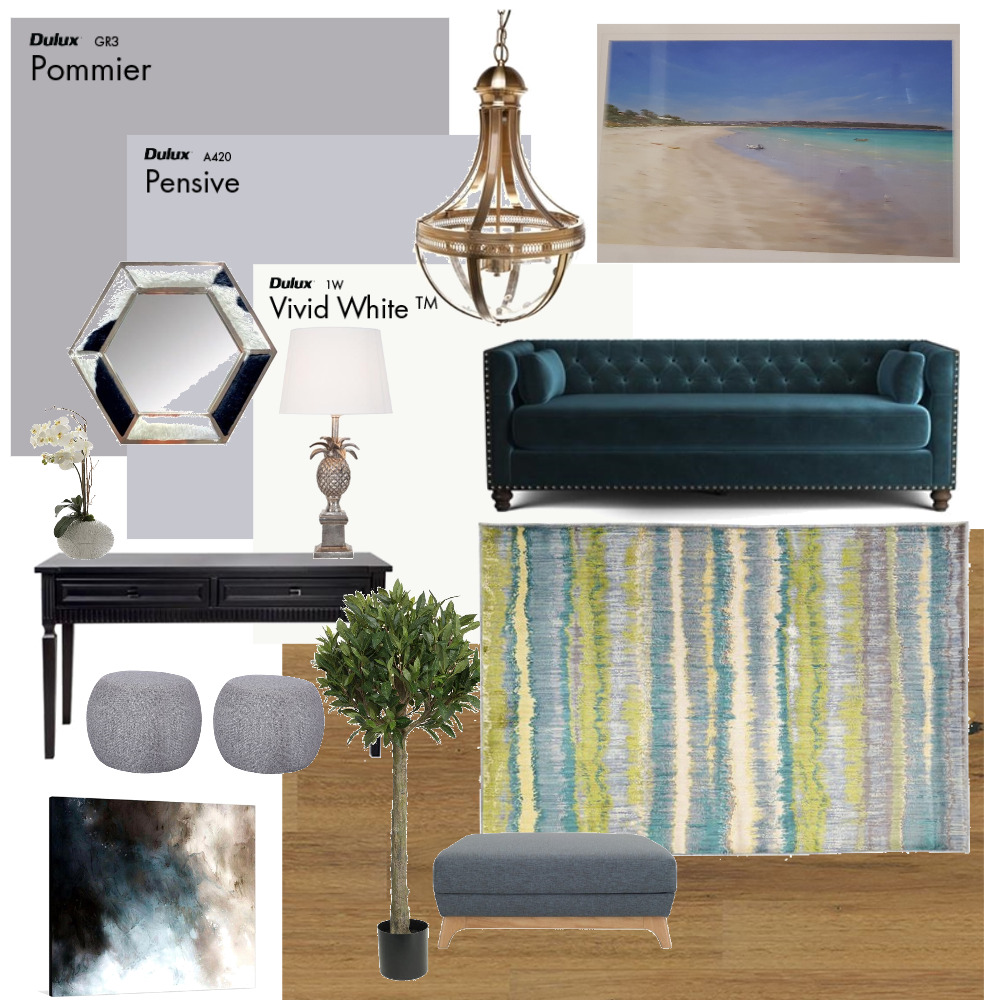 2.5m Hallway Myrtle Bank 4 Interior Design Mood Board by Plush Design Interiors on Style Sourcebook