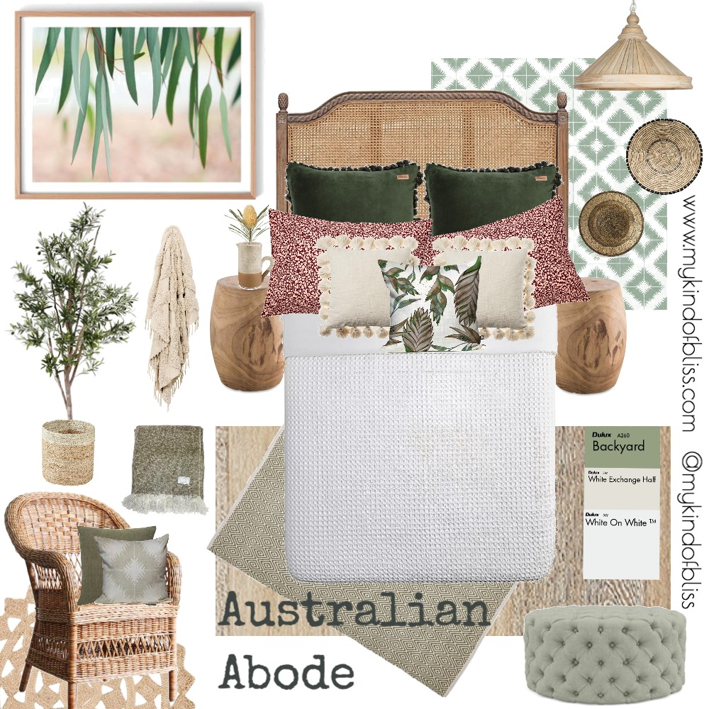 Australian Abode Interior Design Mood Board by My Kind Of Bliss on Style Sourcebook