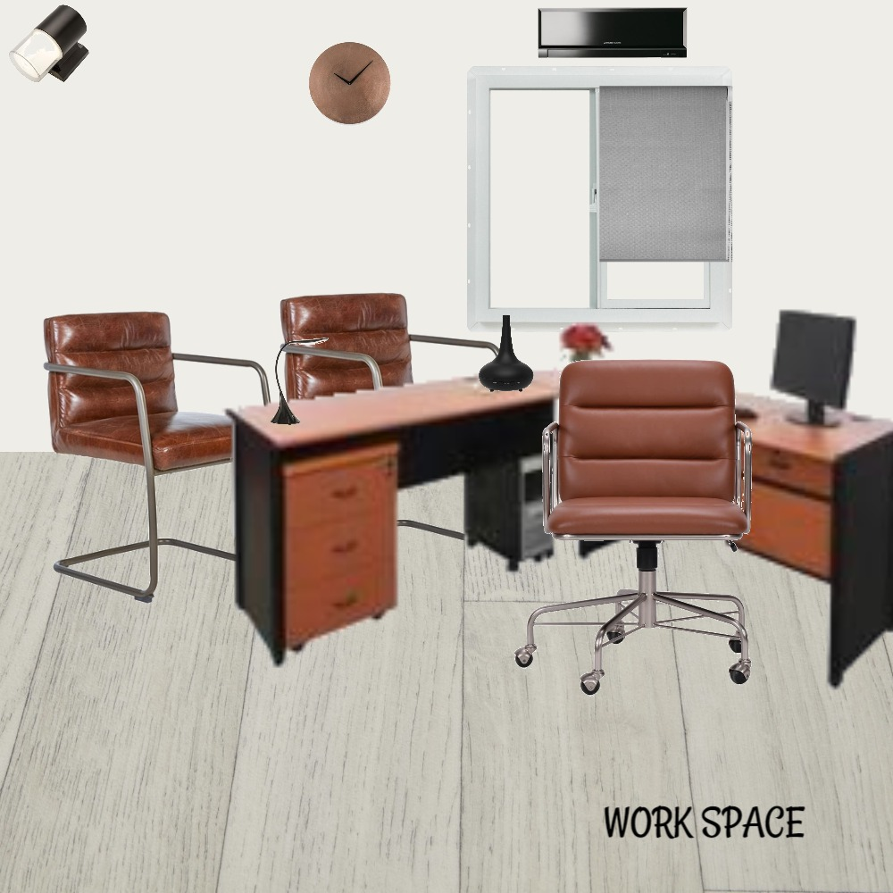 work space Interior Design Mood Board by ayumra on Style Sourcebook