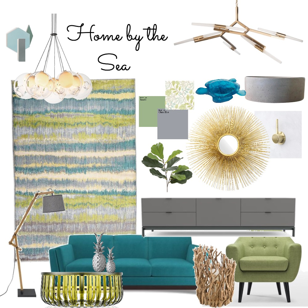 Home by the Sea Interior Design Mood Board by Catleyland on Style Sourcebook