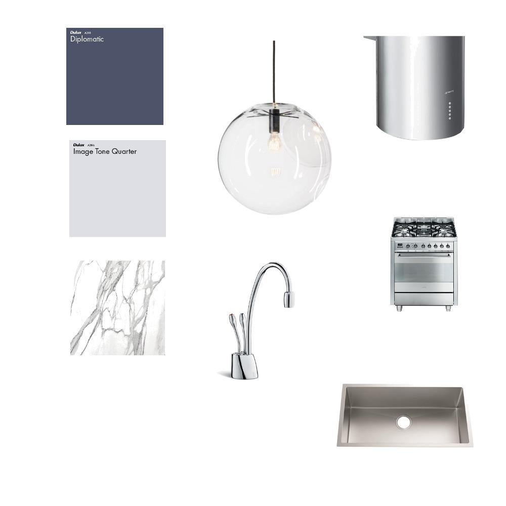 Pall Mall Kitchen Interior Design Mood Board by Brinnie T Design on Style Sourcebook