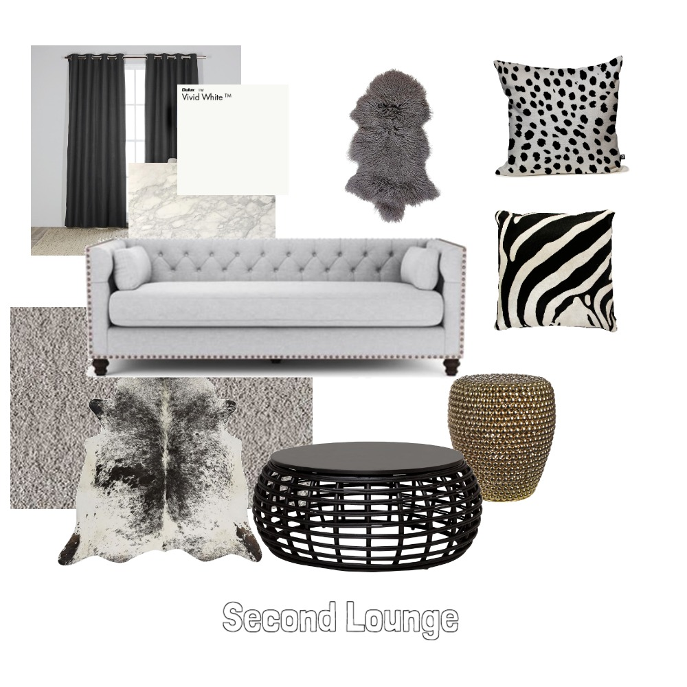 Second Lounge Interior Design Mood Board by SarahFoote on Style Sourcebook