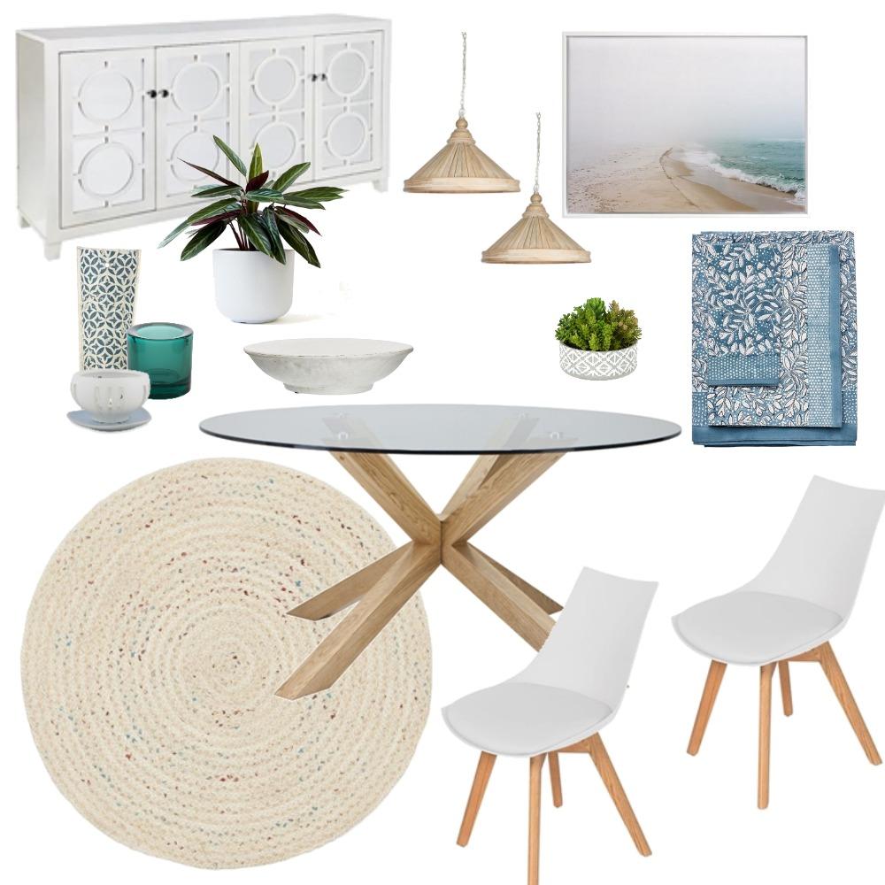 Coastal Dining Interior Design Mood Board by lacarlisle on Style Sourcebook