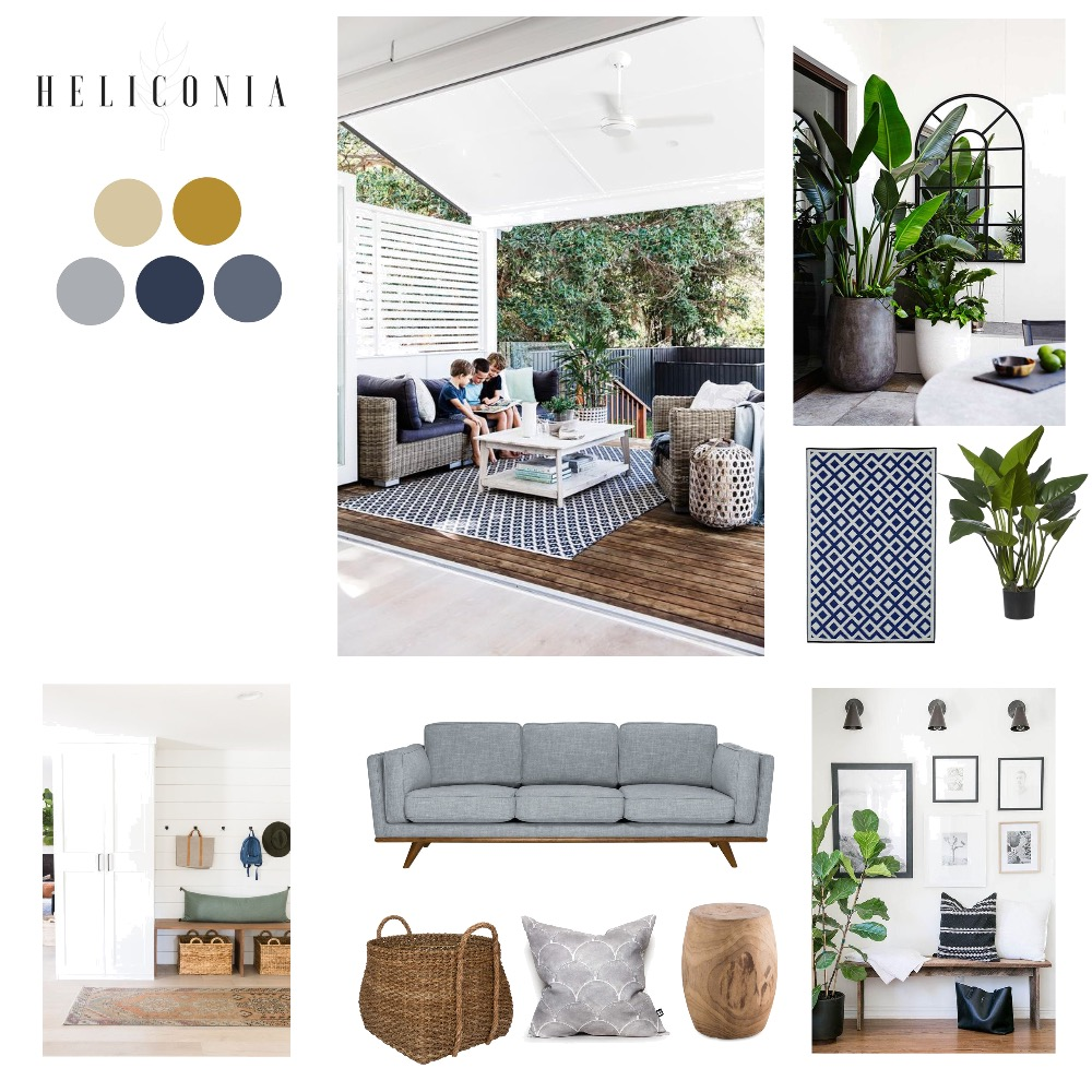 Pip and Adam Perkins Interior Design Mood Board by rkh on Style Sourcebook