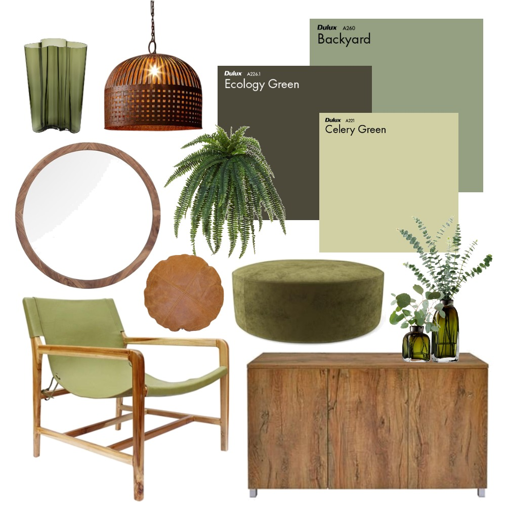 Green Interior Design Mood Board by Thediydecorator on Style Sourcebook