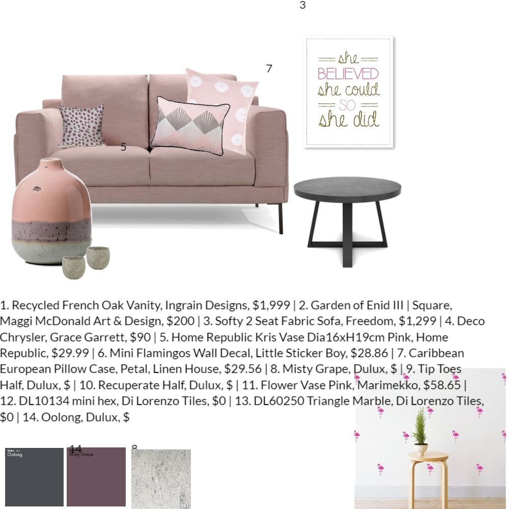 לוח תרגול Interior Design Mood Board by maliyaari on Style Sourcebook