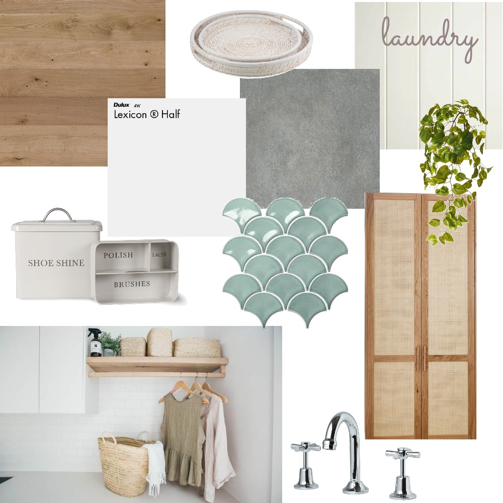 Kerryn Laundry option 1 Interior Design Mood Board by Hunter Style Collective on Style Sourcebook