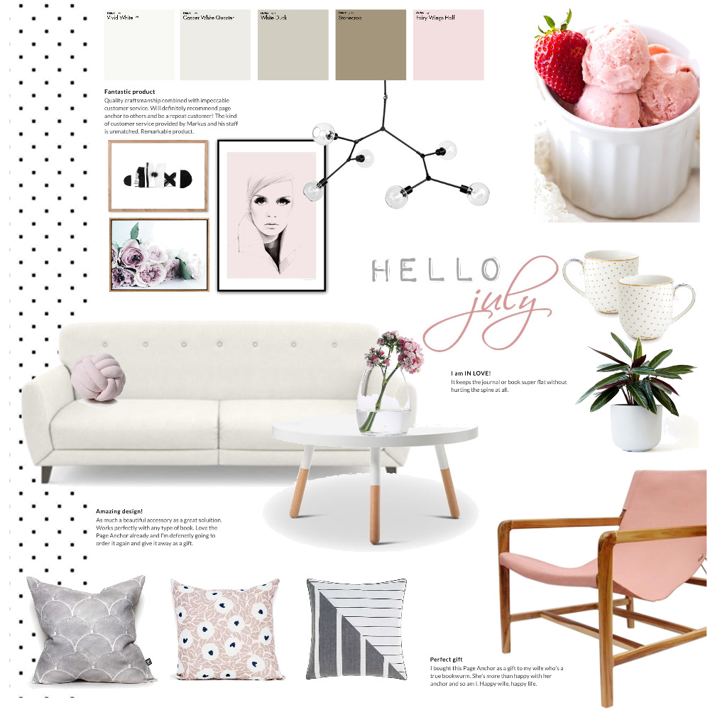 hello july Interior Design Mood Board by Magdolna Levai on Style Sourcebook