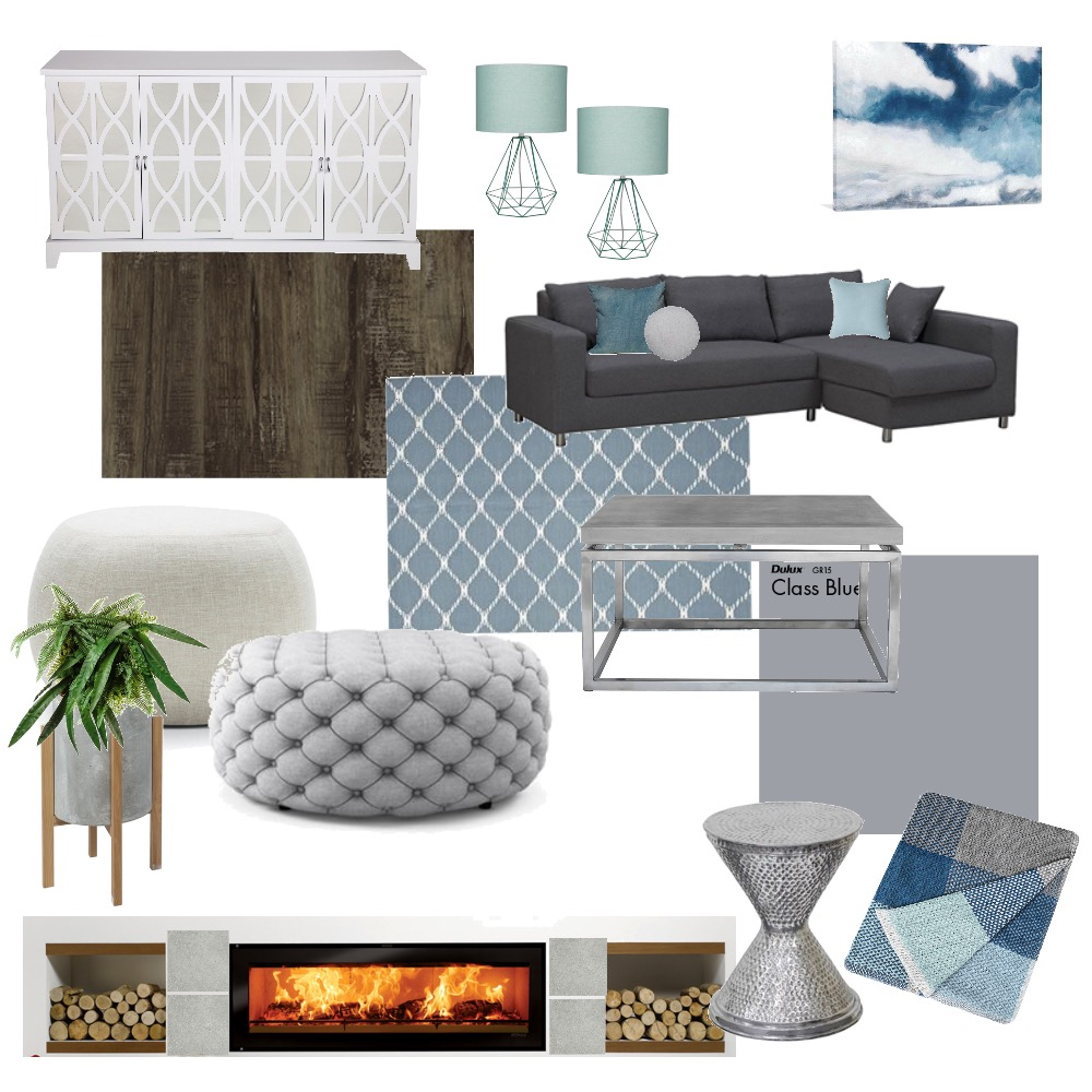 Family room 2 Interior Design Mood Board by sarahgoldring on Style Sourcebook