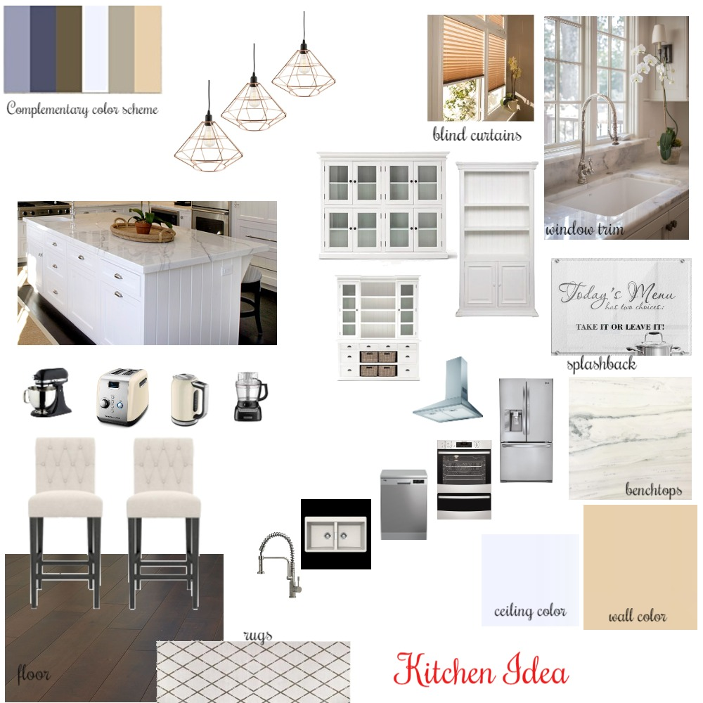 Kitchen Mood Board Interior Design Mood Board by Artemisaz on Style Sourcebook