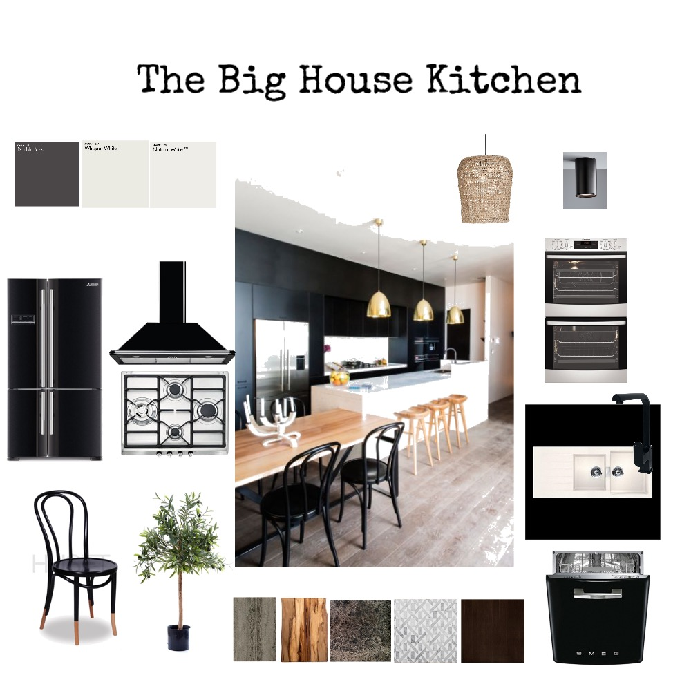 The Big House -Kitchen Interior Design Mood Board by kime7345 on Style Sourcebook